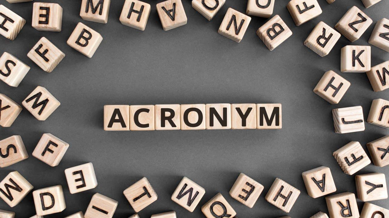List of IT Acronyms and Computer Abbreviations