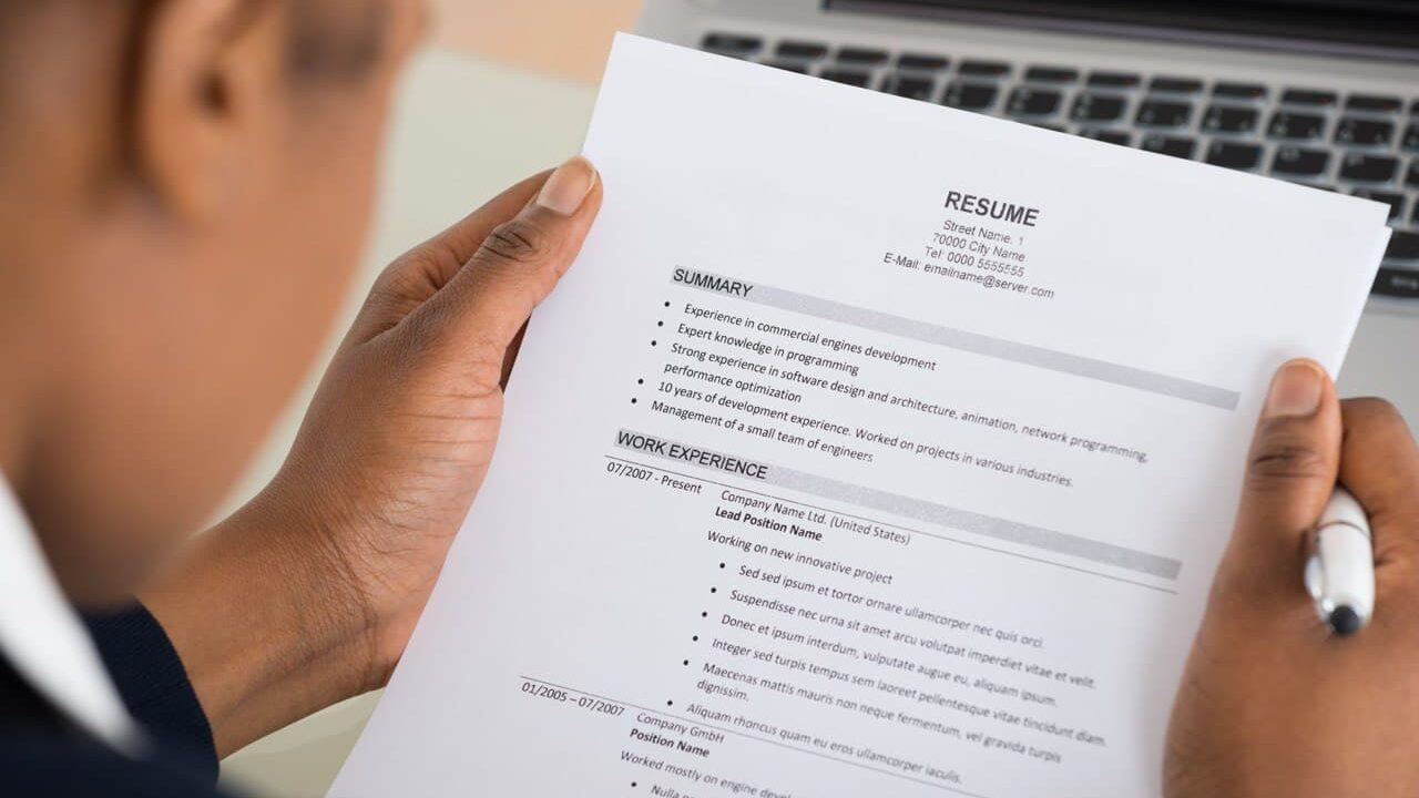 How to Write a Good Resume for IT Profession?